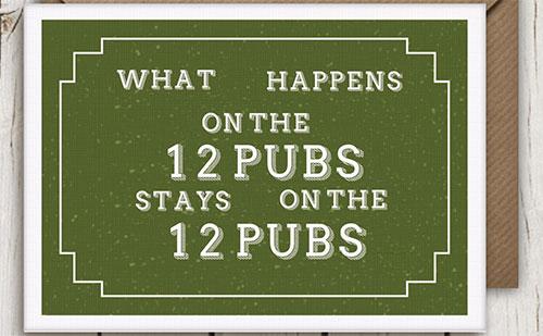 twelve pubs