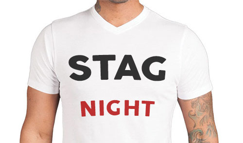 STAG NIGHT TSHIRT IS A Optional Extras FOR STAG NIGHT